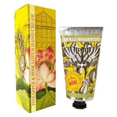 Pineapple & Pink Lotus Kew Gardens Hand Cream