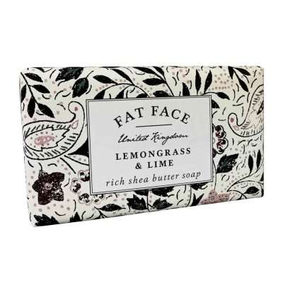 Fatface Lemongrass & Lime Soap Bar