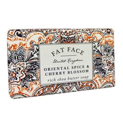 Fatface Oriental Spice & Cherry Blossom Soap Bar