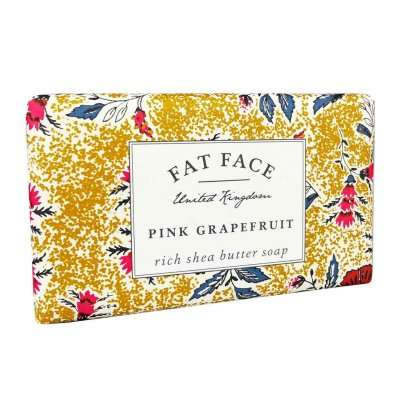Fatface Pink Grapefruit Soap Bar