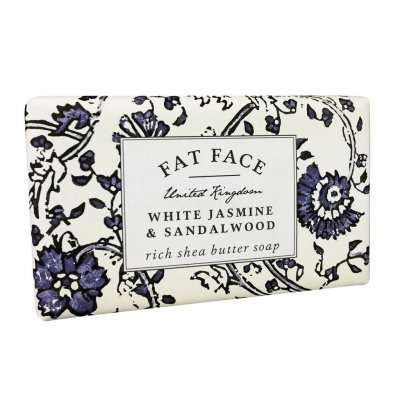 Fatface White Jasmine & Sandalwood Soap Bar