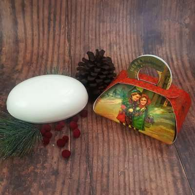 Vintage Christmas Gift Soap