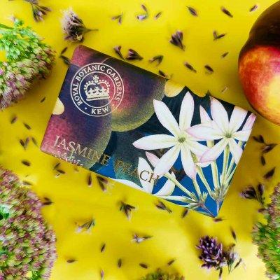 KGS0017 Kew Gardens Jasmine Peach Soap Bar