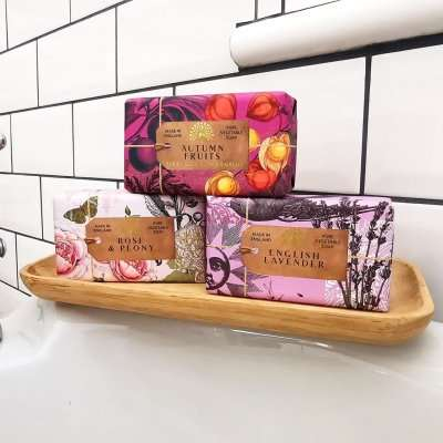 Anniversary Soap Bar collection Bath Tub Relax