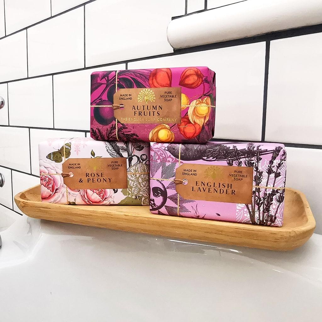 Anniversary Soap Bar collection Bath Tub Relax