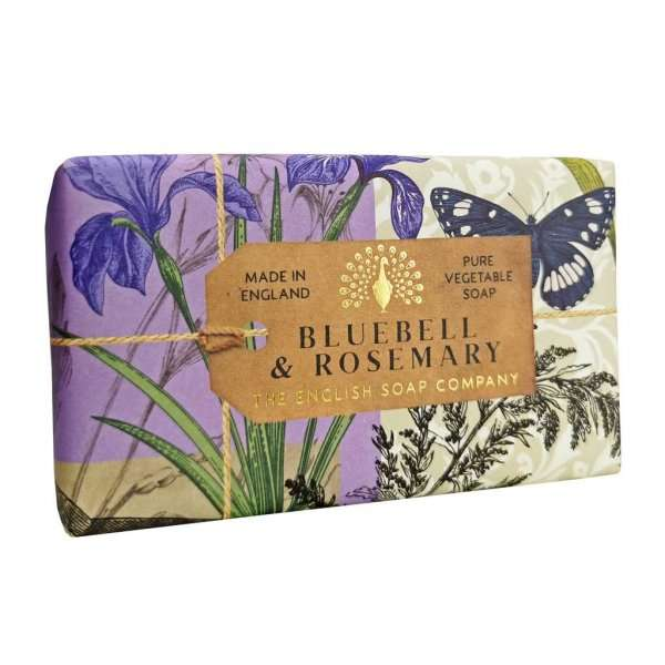Anniversary Bluebell and Rosemary Soap