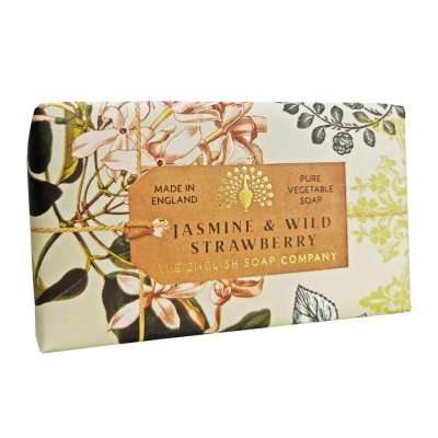 Anniversary Jasmine and Wild Strawberry soap