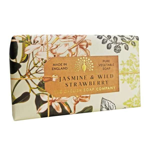 Anniversary Jasmine and Wild Strawberry soap