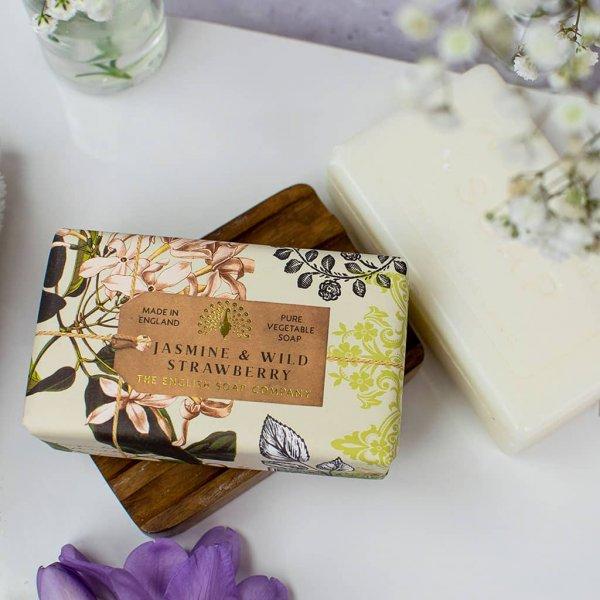 Anniversary Jasmine and Wild Strawberry Soap Bar