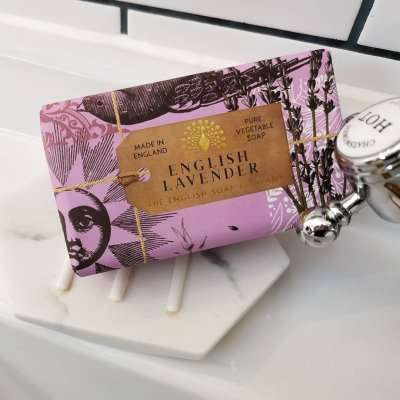 Anniversary English Lavender Soap Bar Sink Tap
