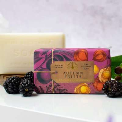 Anniversary Autumn Fruits Soap Bar