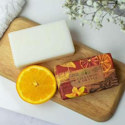 Anniversary Cinnamon and Orange Soap Bar