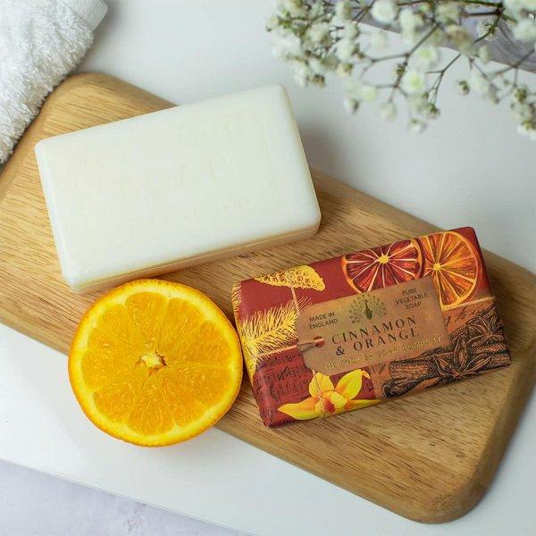 Anniversary Cinnamon and Orange Soap Bar