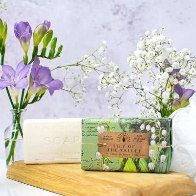 Anniversary Lily of the Valley Soap Bar