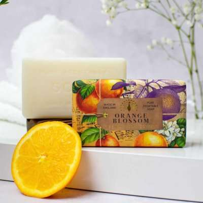 Anniversary Orange Blossom Soap Bar