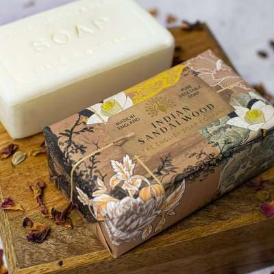 Anniversary Indian Sandalwood Soap Bar