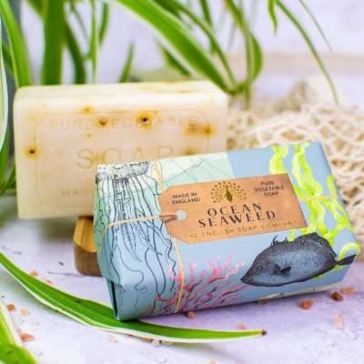 Anniversary Ocean Seaweed Exfoliating Soap Bar