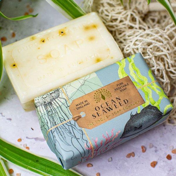 Anniversary Ocean Seaweed Exfoliating Soap Bar