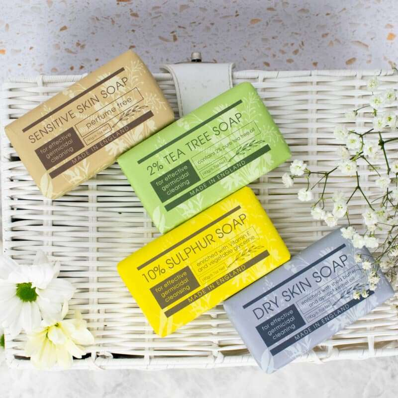Personal Take Care Collection group all soap bars