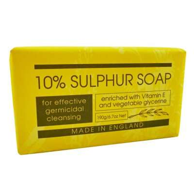 Personal Care 10% Sulphur Soap Bar