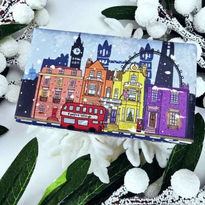 London in Winter Christmas Soap