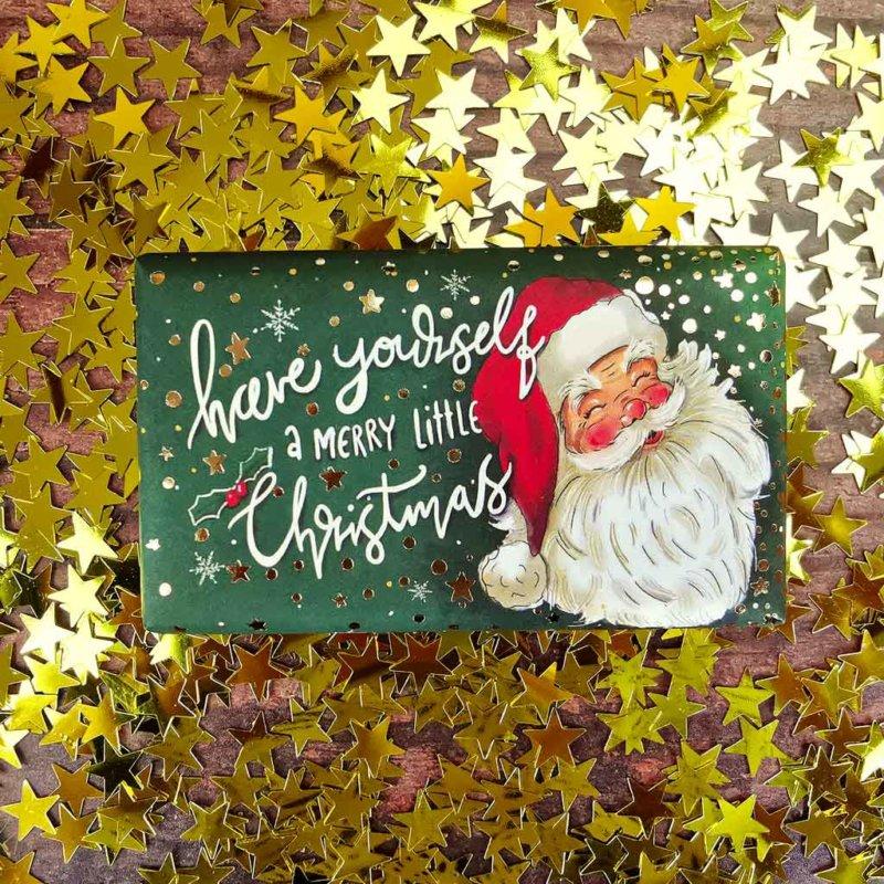 Santa Cinnamon and Orange Soap
