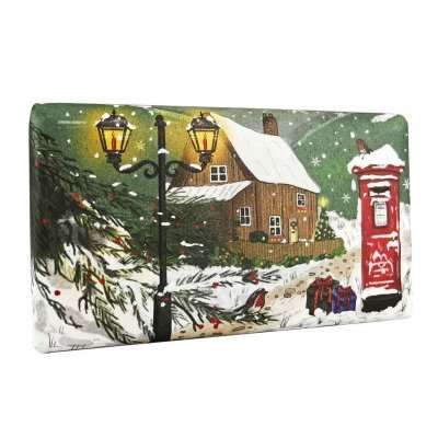 English Countryside in Winter Christmas Soap