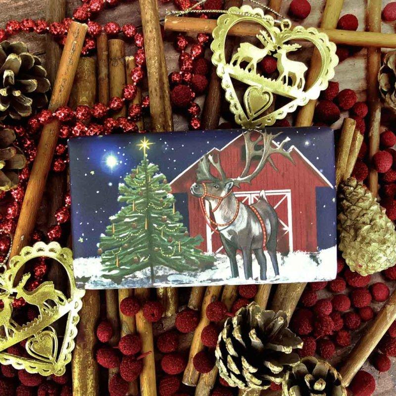 Reindeer Christmas Soap