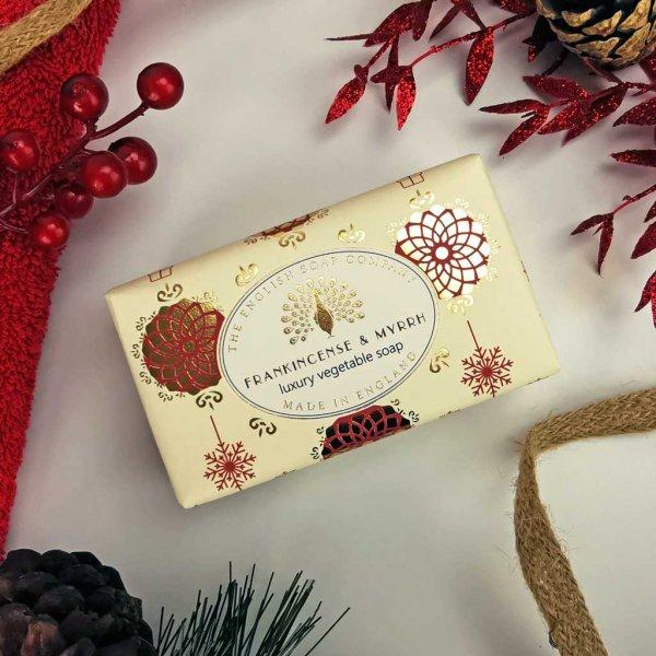 Frankincense and Myrrh Christmas soap