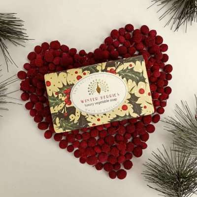 Winter Berries Christmas Soap