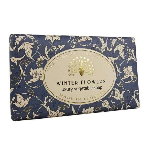 Winter Flowers Christmas Soap