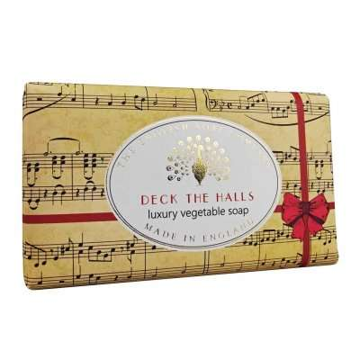 Deck the Halls Christmas Soap