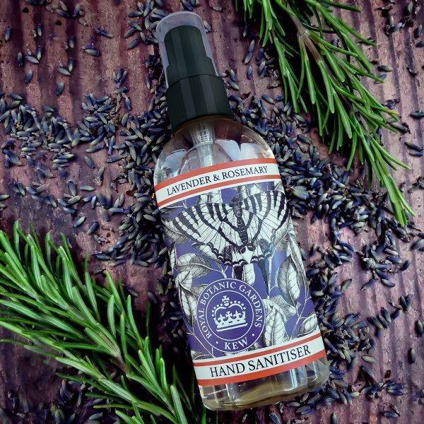 Kew Gardens Lavender and Rosemary Hand Sanitiser