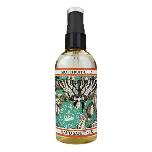 Kew Gardens Grapefruit and Lily Hand Sanitiser