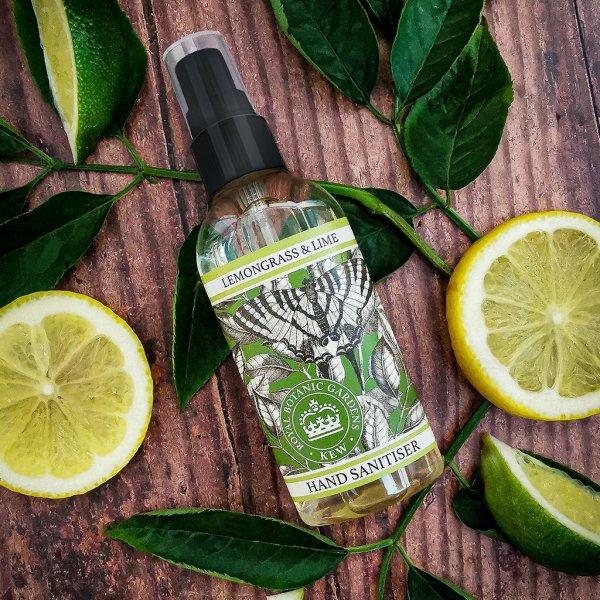 Kew Gardens Lemongrass and Lime Hand Sanitiser
