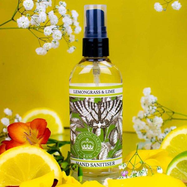 KGA004 Lemongrass & Lime Hand Sanitiser Kew Gardens