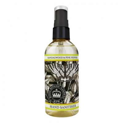 Kew Gardens Sandalwood and Pink Pepper Hand Sanitiser