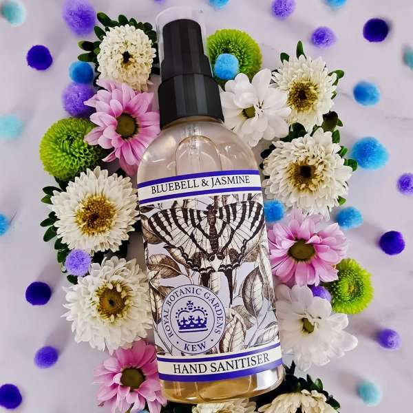 Kew Gardens Bluebell and Jasmine Hand Sanitiser