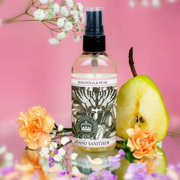 KGA009 Magnolia & Pear Hand Sanitiser Kew Gardens