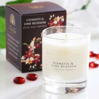 Clematis Candle