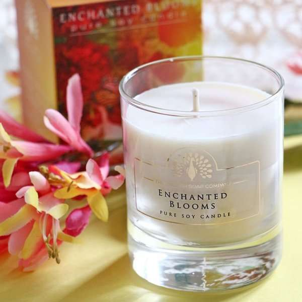 Enchanted Blooms Candle