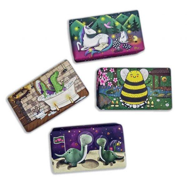 Wonderful Animals 4 Bar Soap Set