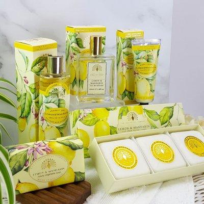 Choose Your Own Bath and Body Pamper Set Lemon and Mandarin