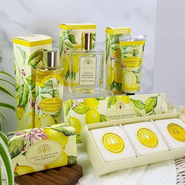 Choose Your Own Bath and Body Pamper Set Lemon and Mandarin