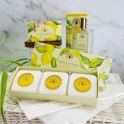 Choose Your Own Bath and Body Set Lemon and Mandarin