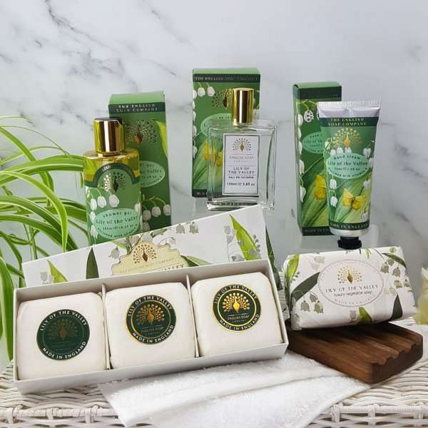 Choose Your Own Bath and Body Pamper Set Lily of The Valley