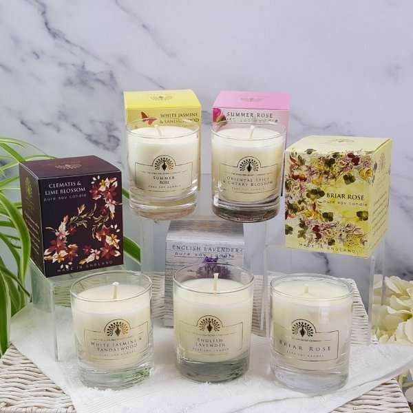 Choose Your Own Five Scented Candles Set