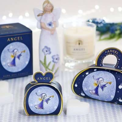 Christmas Gift Soap and Candle Set Angel