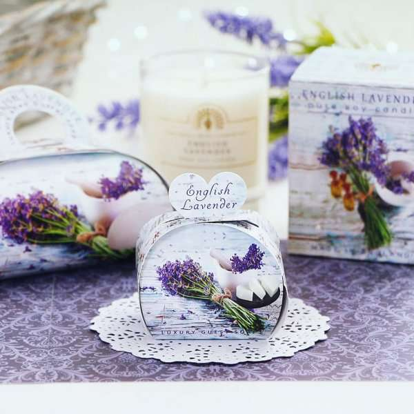 Gift Soap and Candle Set English Lavender