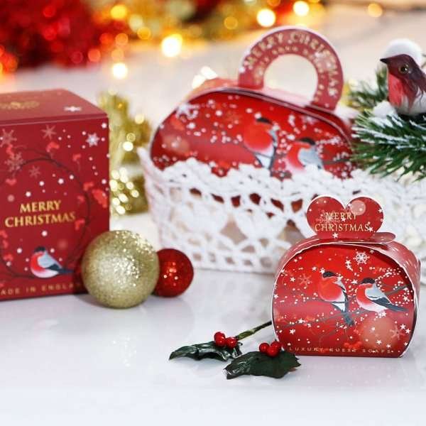 Christmas Gift Soap and Candle Set Merry Christmas